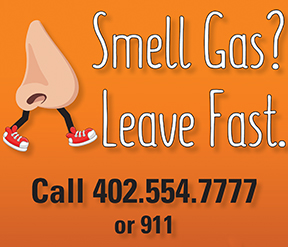 smell gas ad